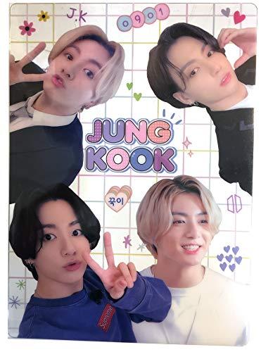 韓国 アイドル 俳優 透明 下敷き B5サイズ (JUNGKOOK-01)