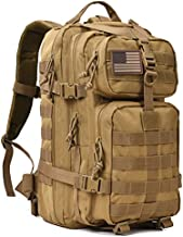 Military Tactical Backpack 3 Day Assault Pack Army Molle Bug Bag Backpacks Rucksack 35L Khaki
