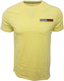 Tommy Hilfiger Men's Crewneck Colored Pocket T-Shirt