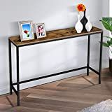 Yesker Console Sofa Table, Industrial Hallway...