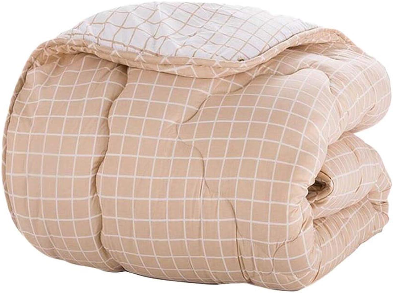 Quilt, hiver plus épais garder au chaud unique double lumière doux maison textiles étudiants dortoir climatisation couette 220 × 240 cm Chaud et confortable (Couleur    1, taille   220  240cm3.5kg)