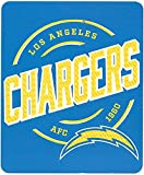 NORTHWEST NFL Los Angeles Chargers Fleece Throw Blanket, 50' x 60', Campaign