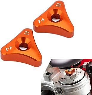 JFG Racing Pomo de Horquilla Delantera ajustador para K.T.M Husaberg Husqvarna