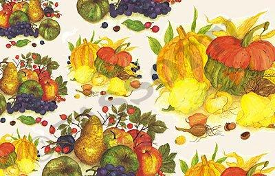 STOCK 3 PEZZI carta decoupage tassotti decorativa frutti di bosco 50X70 cm 85gr cod.115