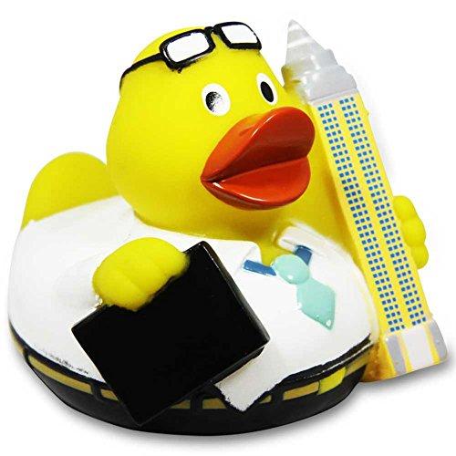 HC 916656 vinyle commerciaux de canard de bain City Duck Francfort Canard en caoutchouc 8 cm