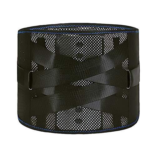 ZFF Respirable Soporte Lumbar Cinturón Apoyo Descompresión por Hombres Mujer Deporte y...
