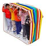 Gioco da Giardino Gioco della Scuola Materna, Panno Oxford Anti-Strappo E Ispessimento, Gioco Educativo per L'integrazione Sensoriale dei Bambini (Color : Kids-6m)