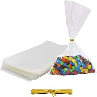 ec40a0fd2d54b Amazon.com: cotton candy bags clear