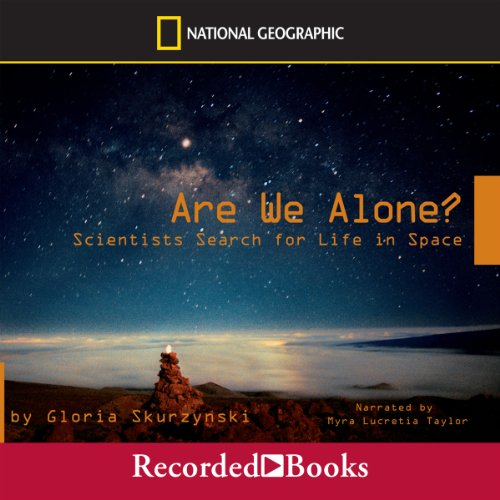 Are We Alone? audiobook cover art
