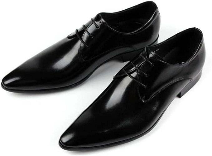 GLSHI Chaussures D'affaires pour Hommes Chaussures de Mode en Dentelle Chaussures Habillées Chaussures de Travail 37-Yard