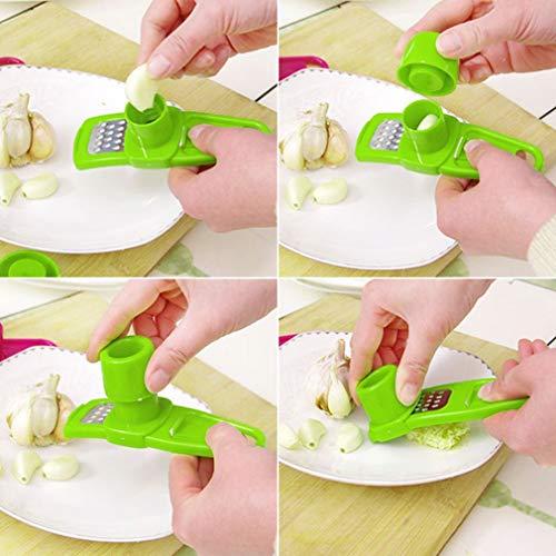 Hemore Home Kitchen Gadget Knoblauchpresse Schneider Ingwer Schleifen Hand Werkzeug Home Zubehör
