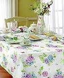 Lenox Butterfly Meadow Hydrangea 60x84 Tablecloth