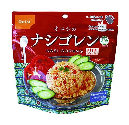尾西食品 アルファ米 オニシのナシゴレン 80g ×50個