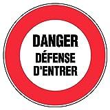 Novap–Panel–Danger Defense de Entrer–diámetro 300mm rígida
