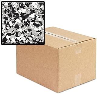 Epoxy Decorative Flakes - 25 LB Box (B-411)(Domino)