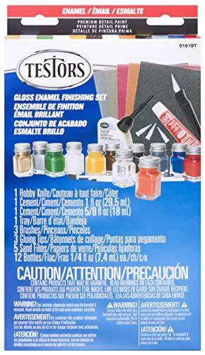 Testors Enamel Sets Paint Kit, Multicolor