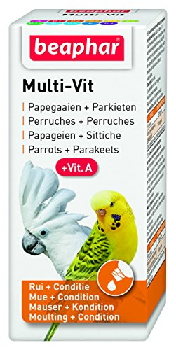 Beaphar Bogena Multi Vitamin for Parrots and Large Parakeets, 20 ml