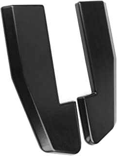 Rear Bumper Lip Universal Fitment | V1 Style PP 2Pc Set Sanded Black With 8 Screws Rear Lip Spoiler Splitter Bodykit By IKON MOTORSPORTS