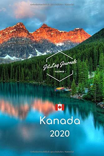 Kanada Kalender 2020: Wochenplaner 2020 • Kanada Geschenk • Kalender Landschaften • Kanada Wochenkalender 2020 • Bildkalender • Terminplaner