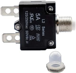 250VAC 50VDC Thermischer Leistungsschalter Non-brand /Überlastungsschalter 10A 125