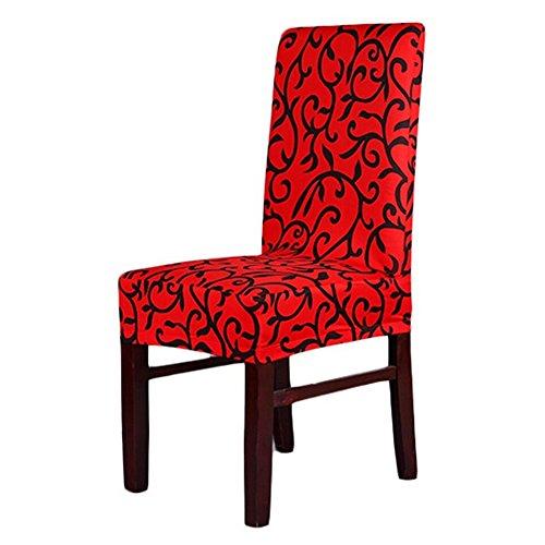 San Bodhi® Super Fit Stretch abnehmbarem waschbarem Esszimmerstuhl Bezug Sitz Bettüberwurf
