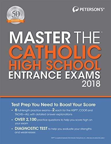 Master the Catholic High School Entrance Exams 2018