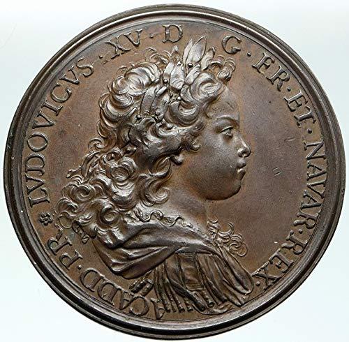 1720 FR 1720 FRANCE King LOUIS XV & DUKE PHILIP of ORLEAN coin Good