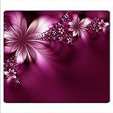 Decorwelt Couvre-plaque de cuisson universelle pour céramique et induction, protection anti-éclaboussures, motif fleurs