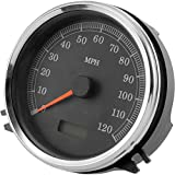 Biker's Choice Softail Electronic Replacement Speedometer (5') Compatible with 99-03 Harley FXST2