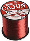 Zebco CAJUN LOW VIS QTR # SPOOL 10LB -RED, 1450-Yard/10-Pound (CLLOWVISQ10C.SW6)