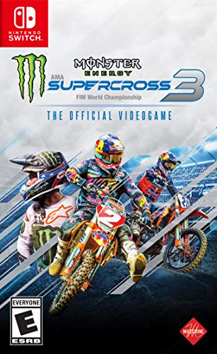 Monster Energy Supercross - The Official Videogame 3 for NintendoSwitch [USA]