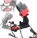 Afilador eléctrico de cadenas de motosierra, 4800 U/min, herramienta de montaje de mesa o tornillo de banco
