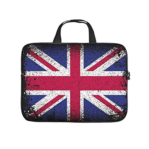 Funda para portátil resistente a los arañazos, diseño de bandera de Inglaterra