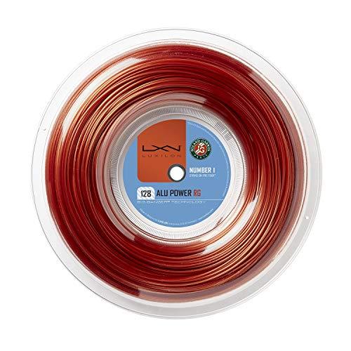 Luxilon Rolle mit Tennissaite ALU Power Roland Garros, Durchmesser: 1,28mm, Silber, WR8302501128