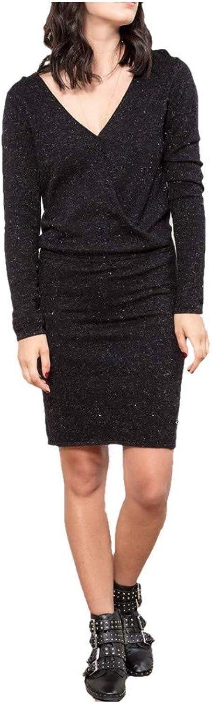 LE TEMPS DES CERISES  Dress Woman Long Sleeve Black FSIENNA