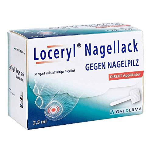 Loceryl Nagellack gegen Nagelpilz Direkt-Applikator, 2.5 ml