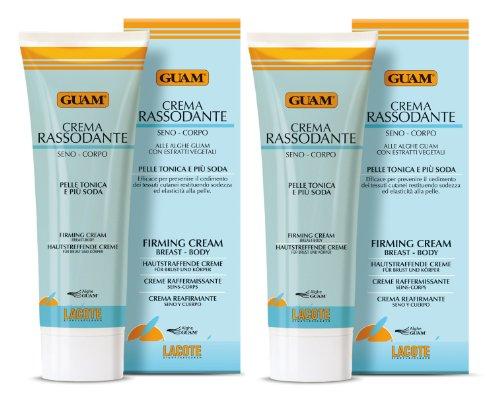Guam hautstraffende Creme für Brust und Körper 2 x 250 ml