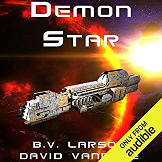 Demon Star audiobook cover art