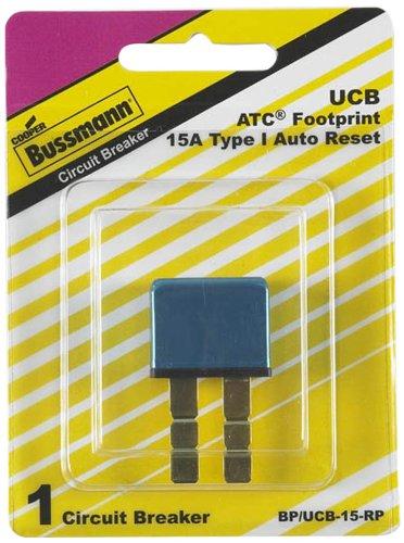 Bussmann (BP/UCB-15-RP) 15 Amp Type-I Universal Circuit Breaker