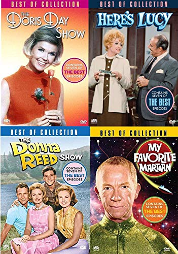 Laughin' Land TV Shows Best of Here's Lucy / The Donna Reed Show / My Favorite Martian / Doris Day Show 4 Pack Retro