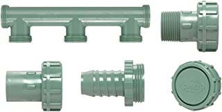 Orbit 3-Port Irrigation Valve Manifold Bundle for 1