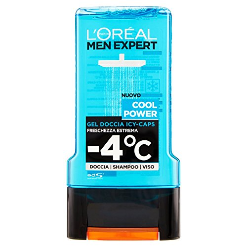 L'Oréal Paris Men Expert Gel Douche, 300 ml Cool Power