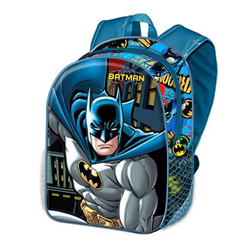 KARACTERMANIA Batman Battle-Kleiner 3D Rucksack, Blau