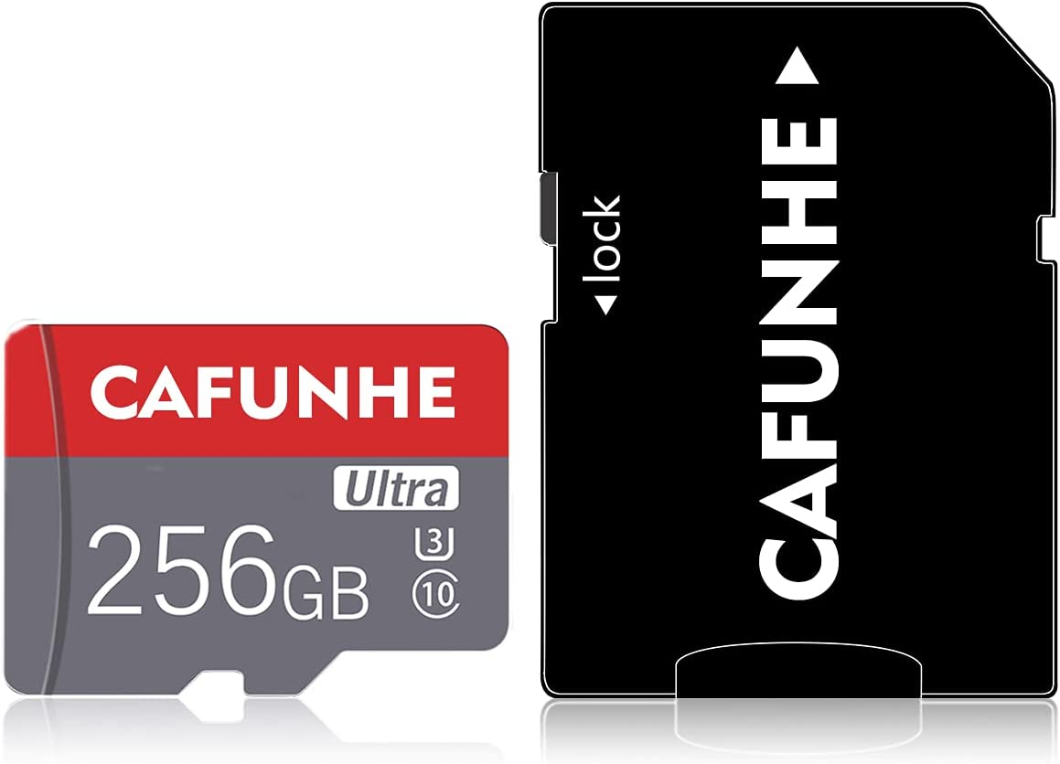 Micro SD Card 256GB Class 10 Memory Card 256GB TF Memory Cards for Camera, Phone Computer Game Console, Dash Cam, Camcorder, GPS, Surveillance, E-Reader, Drone