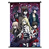 upain Anime Angels of Death Poster Stoff Scroll Malerei