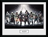 GB Eye Poster Assassins Creed, Zeichen Kunstdruck, gerahmt,