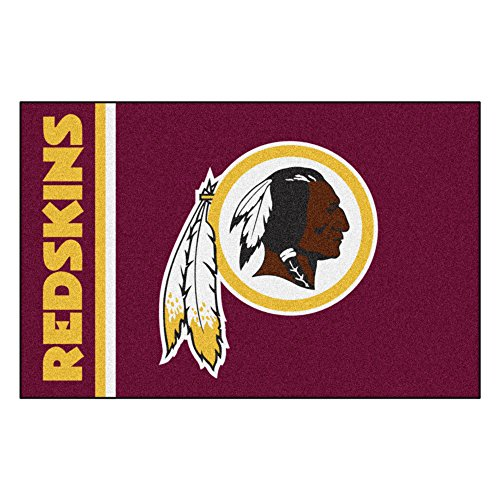 FANMATS NFL Washington Redskins Nylon Face Starter Rug