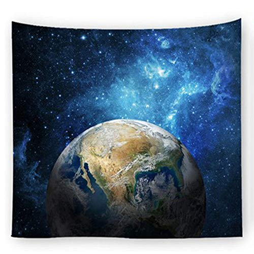 TLTLTL Galaxy Space Pattern Wall Hanging, Psychedelic Constellation Tapestry, Decorations For Living Room,G-150 * 200CM