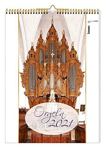 Orgeln 2021: Kalender ohne CD
