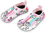 Toddler Kids Swim Water Shoes Quick Dry Non-Slip Water Skin Barefoot Sports Shoes...